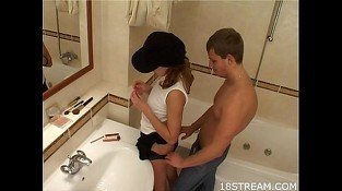 Tattooed teen mailed in a bath
