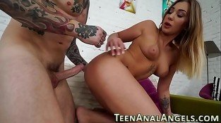 Doggystyle slammed teen